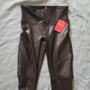 Nwt faux leather moto leggings